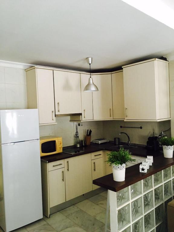 Una cocina o zona de cocina en Nuño Gomez Apartment