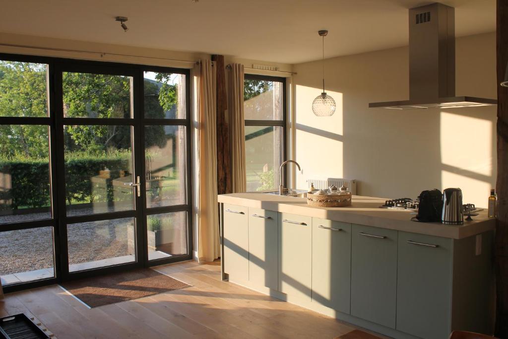 Een keuken of kitchenette bij Rest & Rust