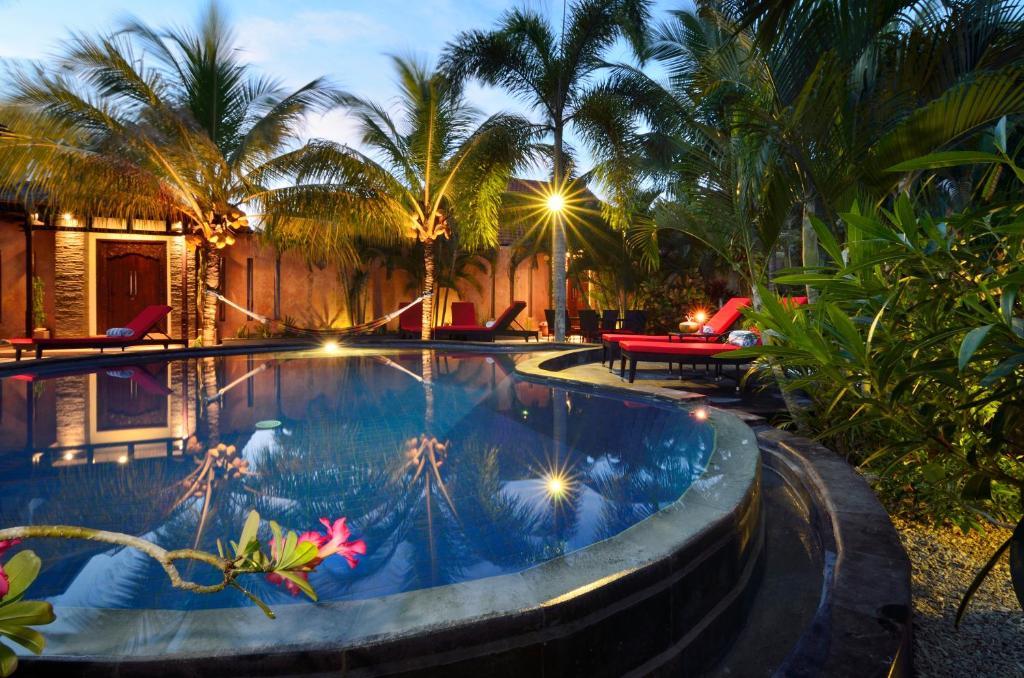 The swimming pool at or near Riviera Villas Lombok