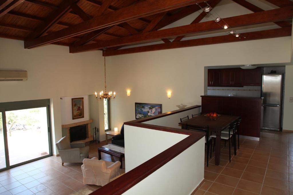 A kitchen or kitchenette at Ktima Nikolaos