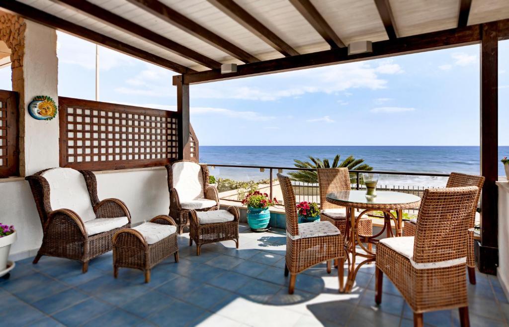 Balcone o terrazza di Terrace Mare Corallo