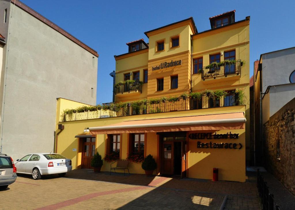 Hotel U Radnice Louny, Czech Republic