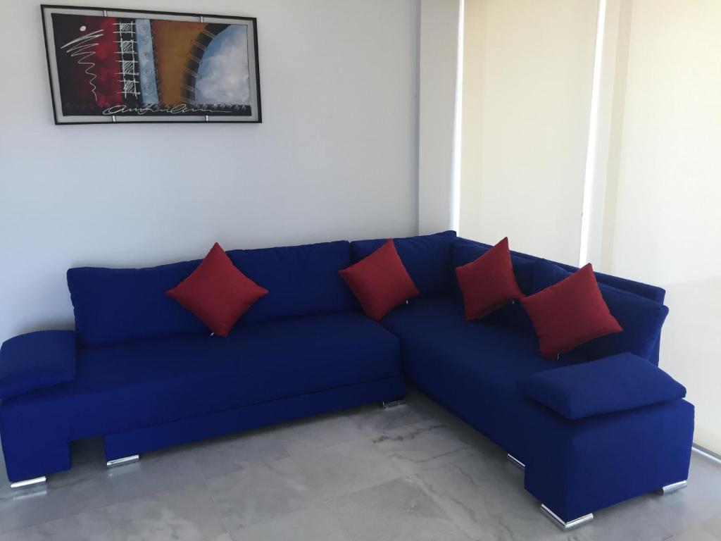 Zona de estar de Condominios Acqua, Nuevo Vallarta