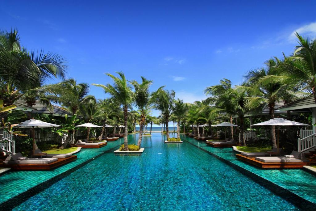 A garden outside Rest Detail Hotel Hua Hin