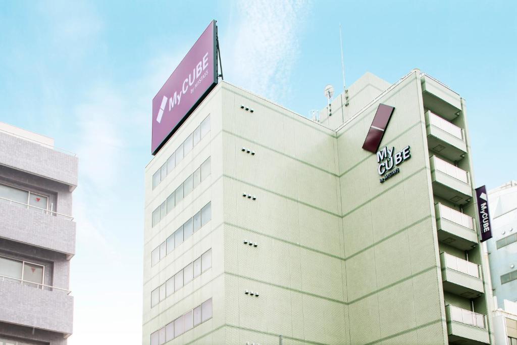 膠囊旅館所在的建築