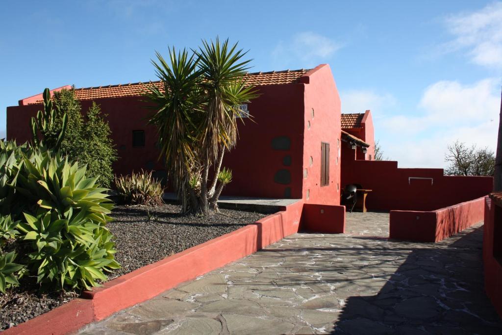 Jardín al aire libre en Viviendas Barranco de la Vieja