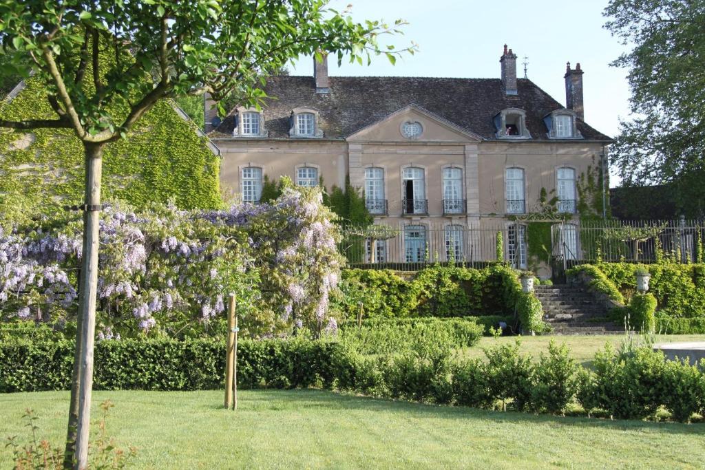 A garden outside Chateau de Villette