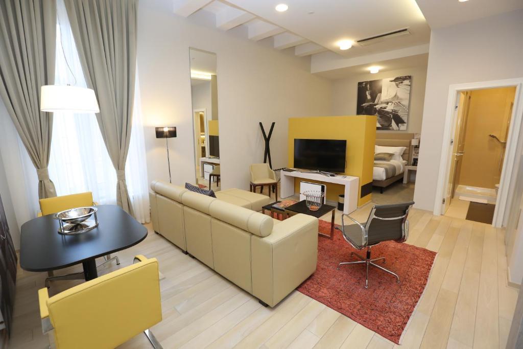 Zepter Hotel tesisinde lounge veya bar alanı