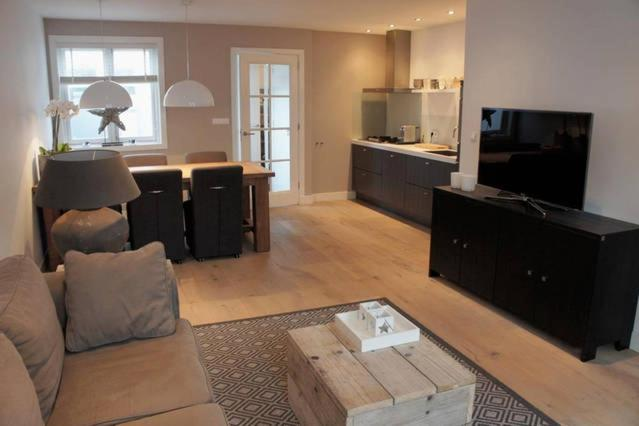 The lounge or bar area at Vakantiehuis Zandvoort