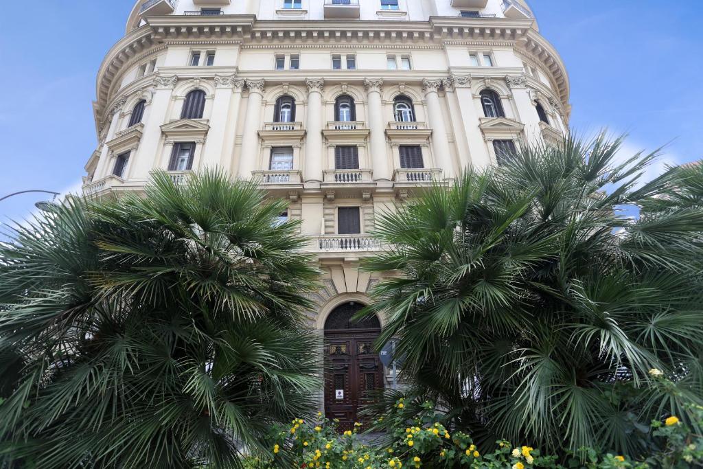 Ogród w obiekcie Piazza Bovio 22