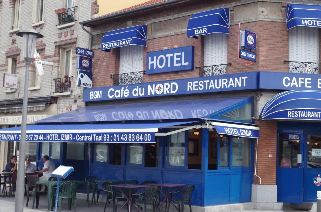 Cafe du Nord-Izmir hotel Le Blanc-Mesnil, France