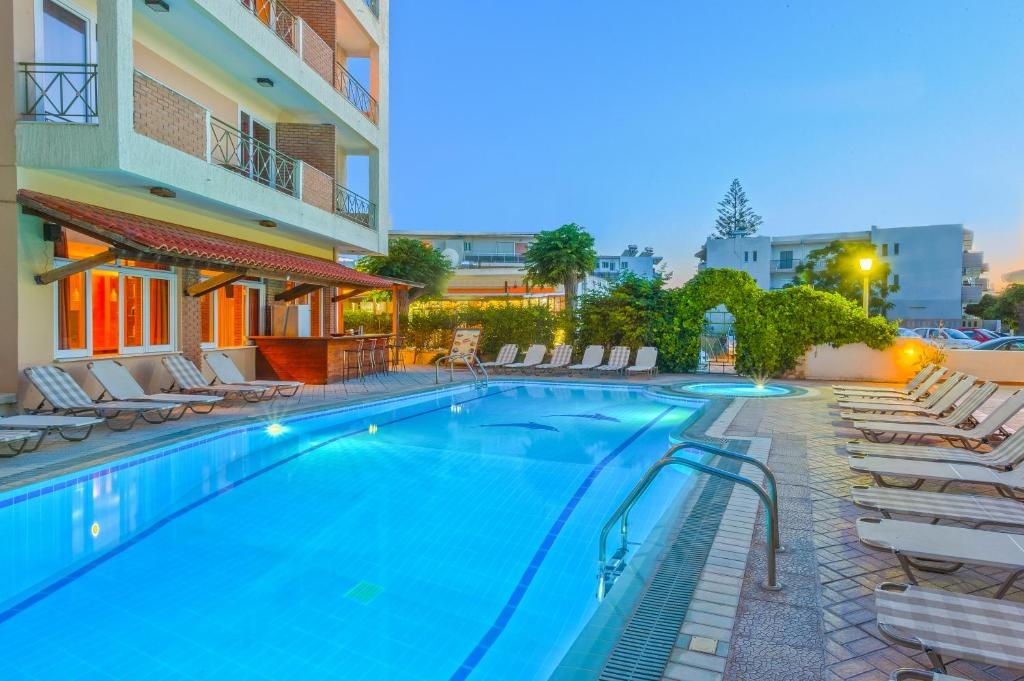 The swimming pool at or near Pavlos Hotel