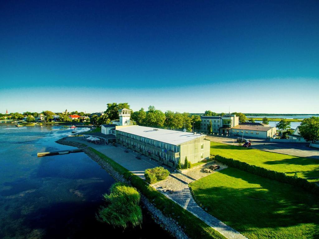 Apgyvendinimo įstaigos Baltic Hotel Promenaadi vaizdas iš viršaus
