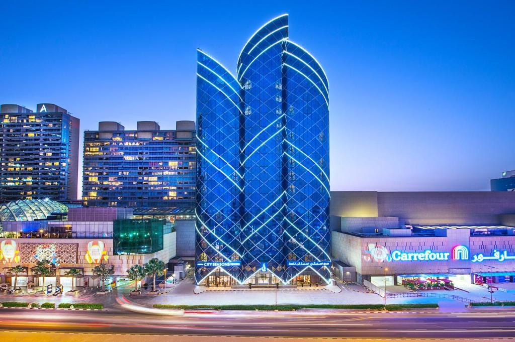 city seasons hotel dubai 4 оаэ дубай