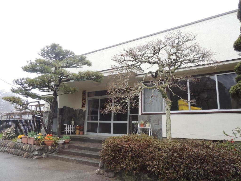 A porch or other outdoor area at Ikoi Sanso