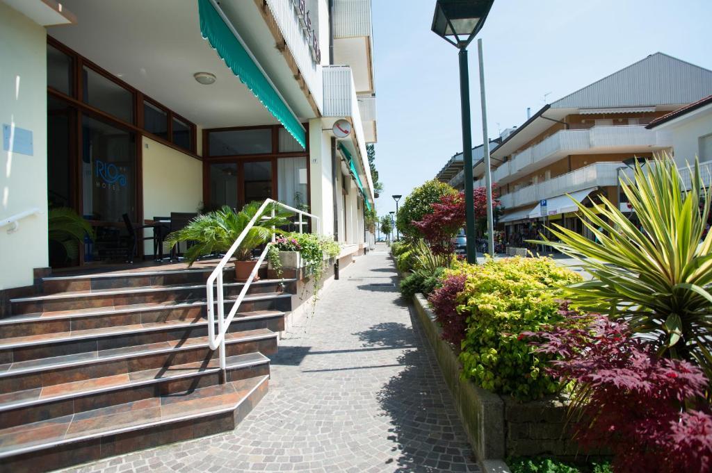Patio nebo venkovní prostory v ubytování Rio Meublé
