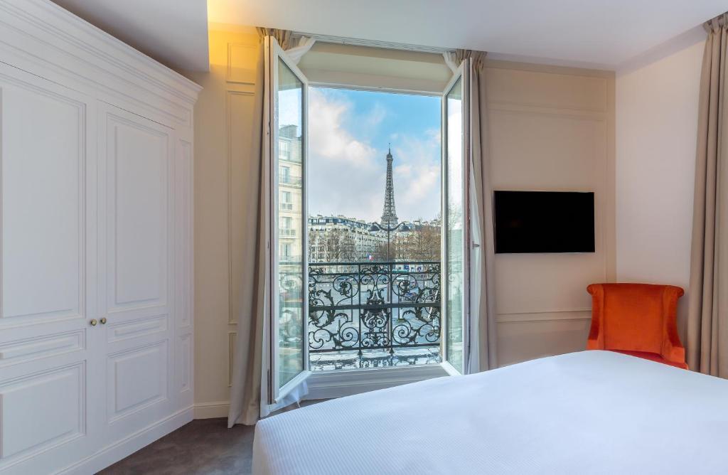 Um quarto em Hôtel La Comtesse