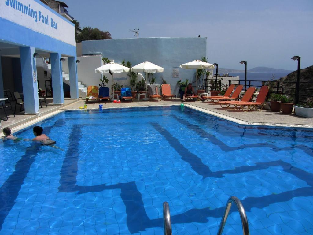 Πισίνα στο ή κοντά στο Petra Hotel