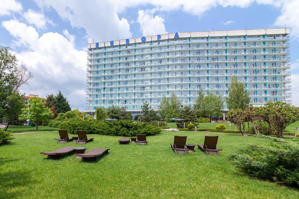 Jardín al aire libre en Ana Hotels Europa Eforie Nord