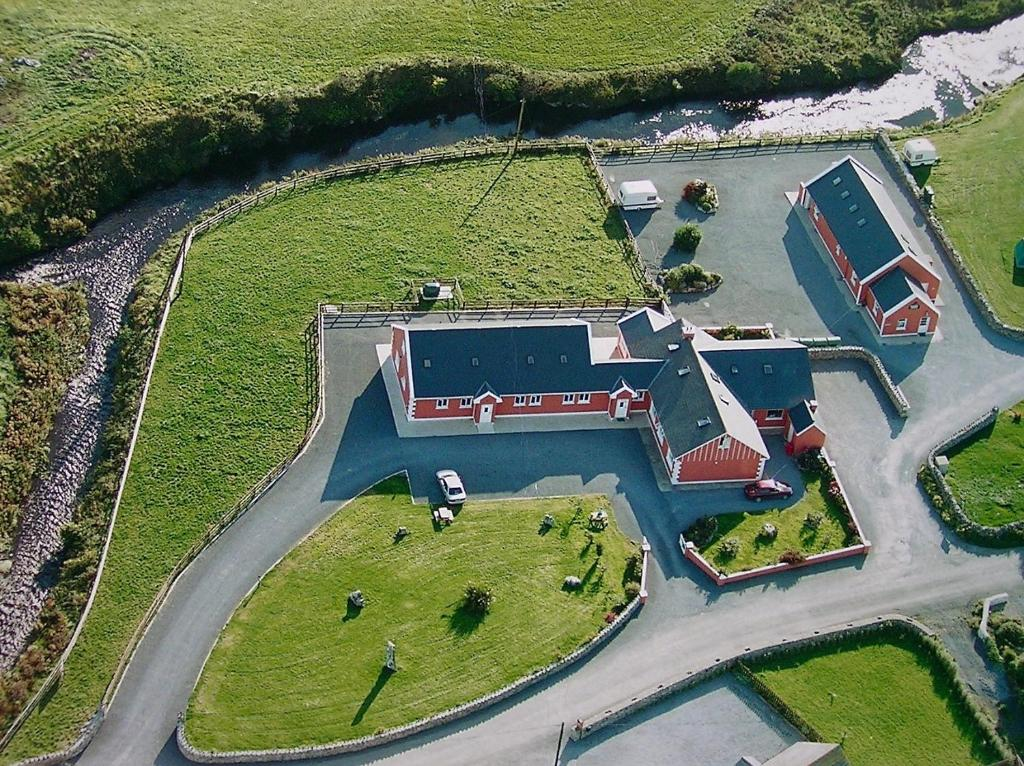 A bird's-eye view of O'Connor's Guesthouse