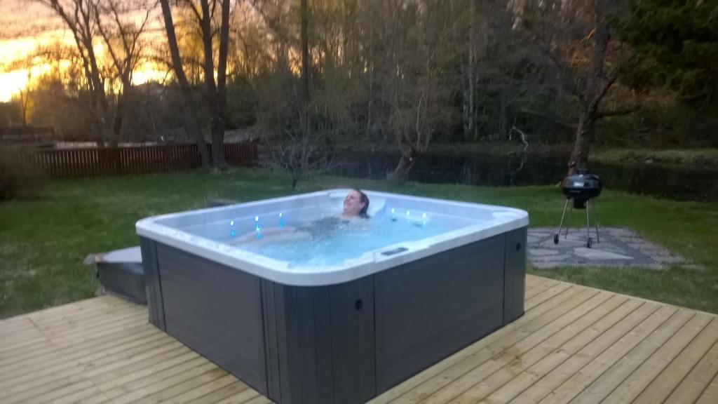 Spa and/or other wellness facilities at Joentörmä Cottage