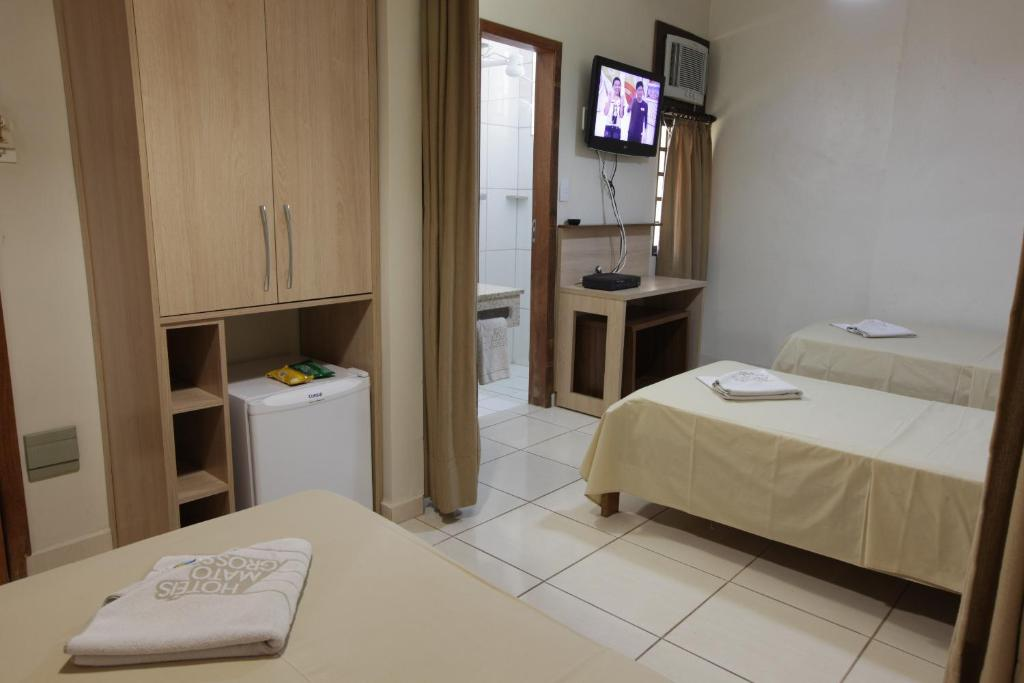 A room at Hotel Mato Grosso