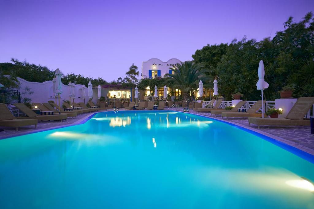 The swimming pool at or near Hotel Matina