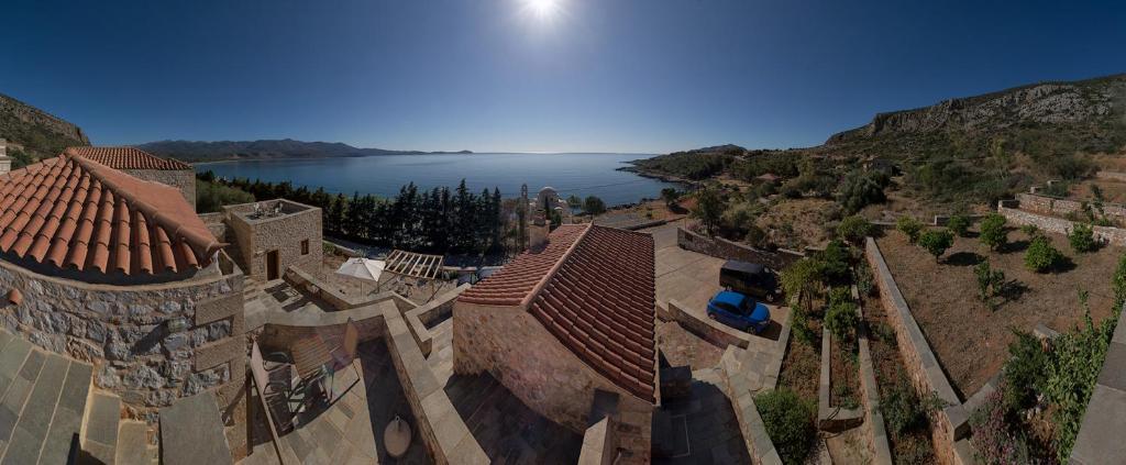 Vista aerea di Lithochtisto