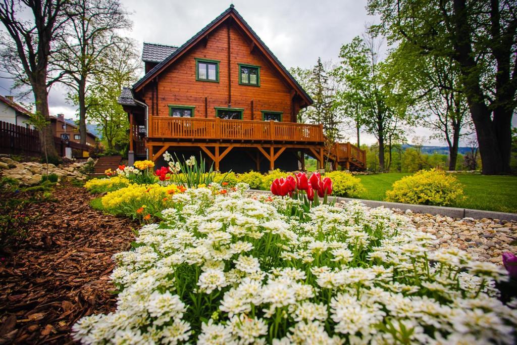 Ogród w obiekcie Dom Bratek