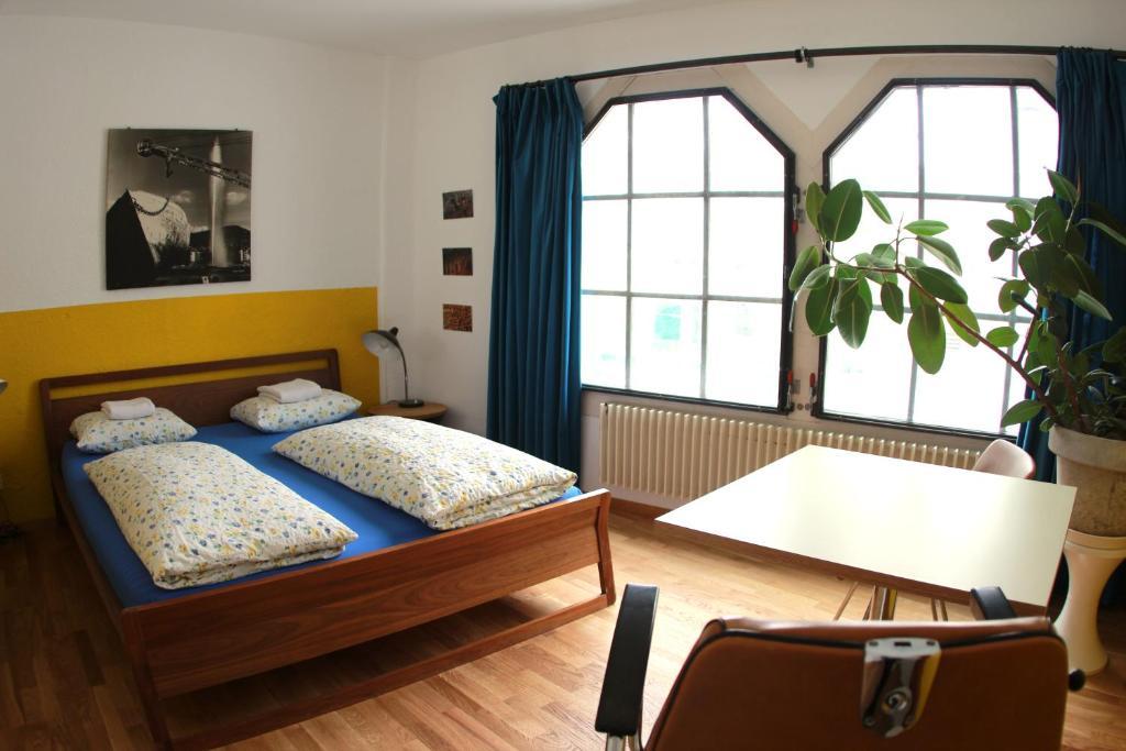 Ein Zimmer in der Unterkunft Basel Backpack
