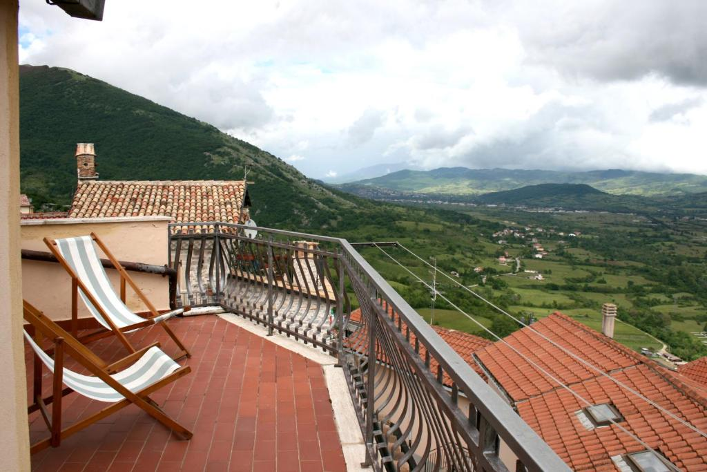 Balcone o terrazza di Don Pasquale Scontrone House