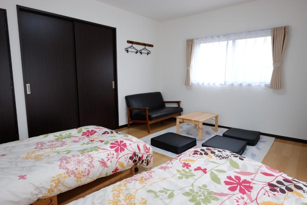 A television and/or entertainment center at Cottage Kutsuroki