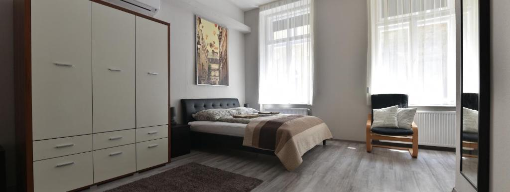 A room at Corvin Point Rooms and Apartments