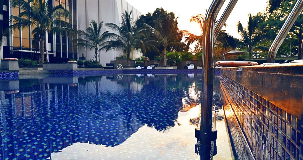 The swimming pool at or near Fleuve Congo Hotel By Blazon Hotels