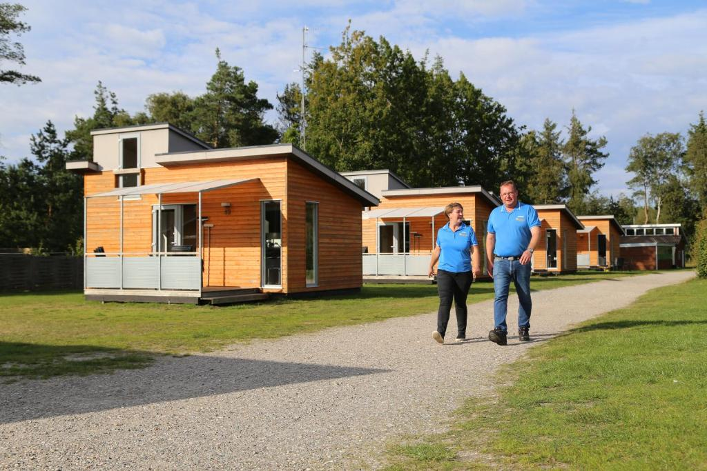 Guests staying at Læsø Camping & Hytteby