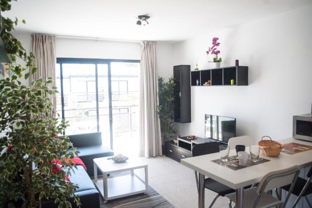 Zona de estar de Sea View Apartment Amaya 1