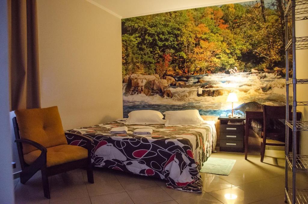 A room at Hotel Pousada Do Leão