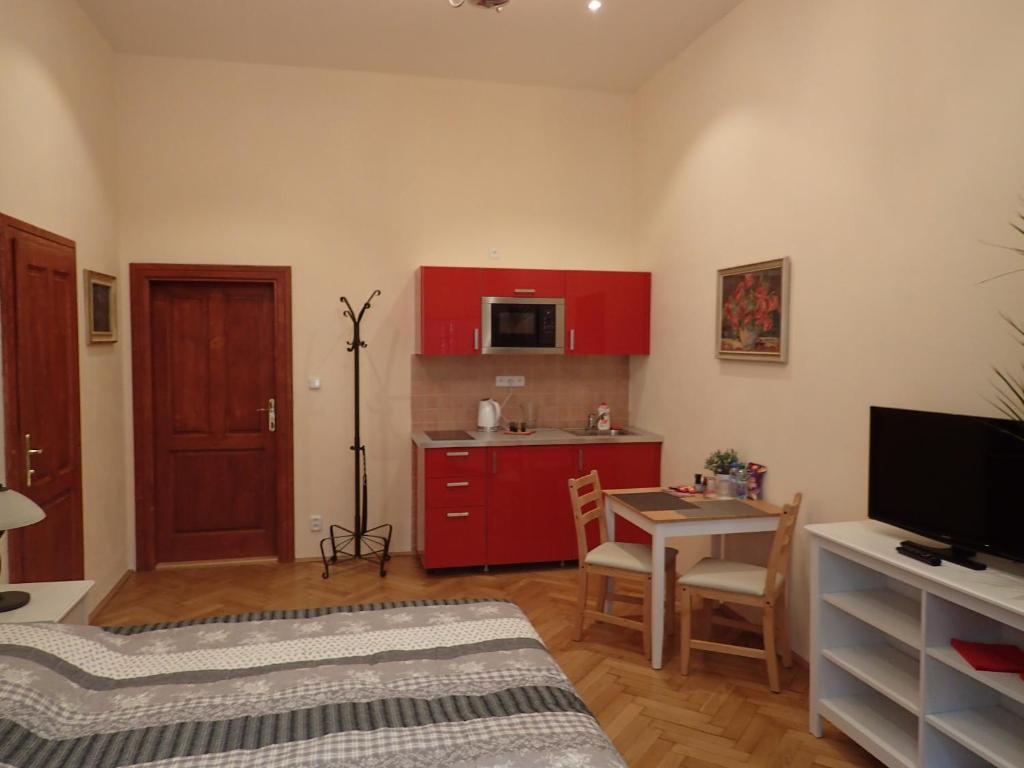 Ein Zimmer in der Unterkunft EPIFANIE - apartments