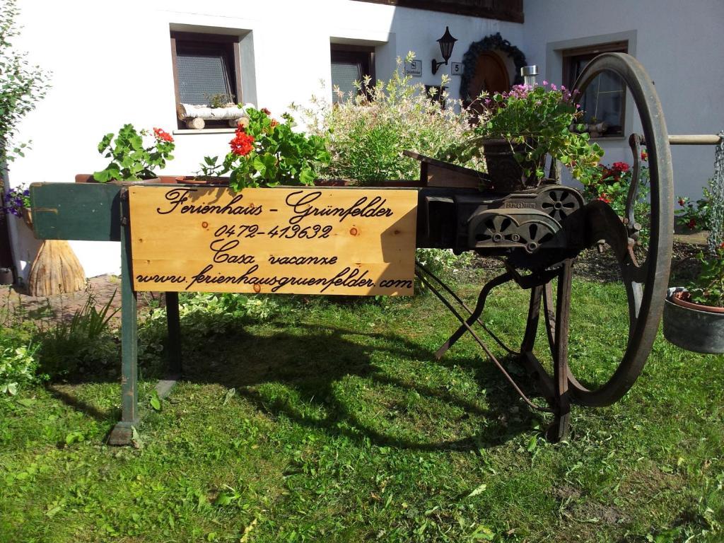 Giardino di Ferienhaus-Grünfelder