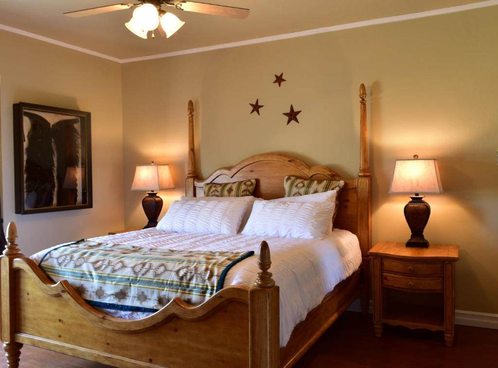 A bed or beds in a room at Brew House Boarding