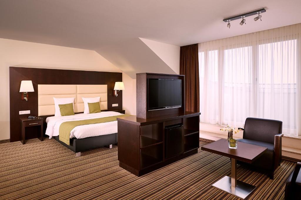 A room at Hotel Charleroi Airport - Van Der Valk