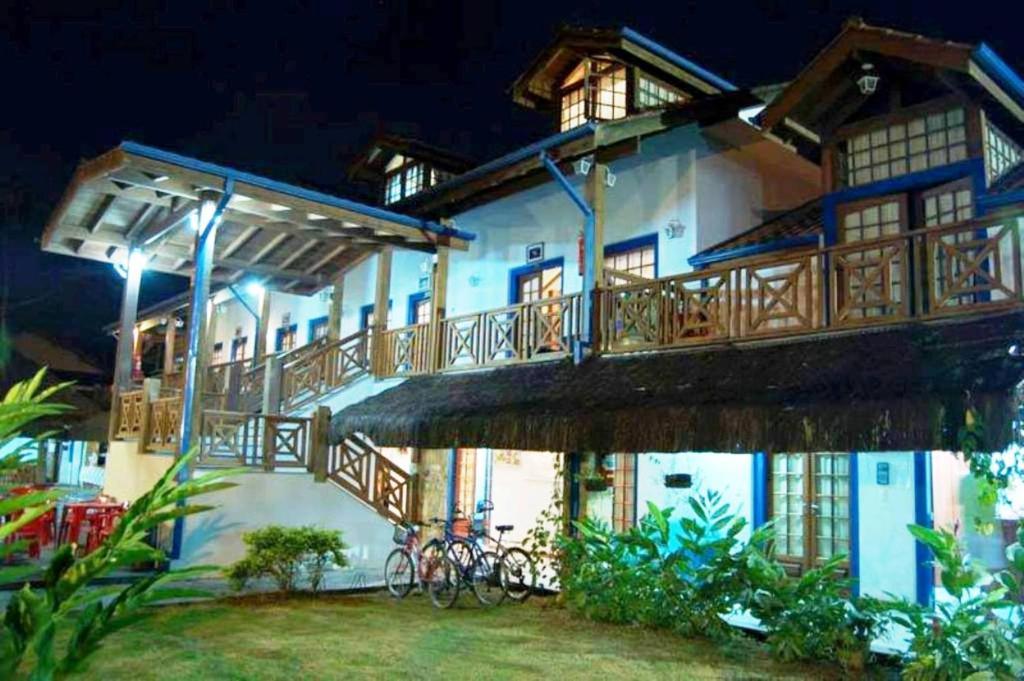A patio or other outdoor area at Pousada Aqui é Para-Ti