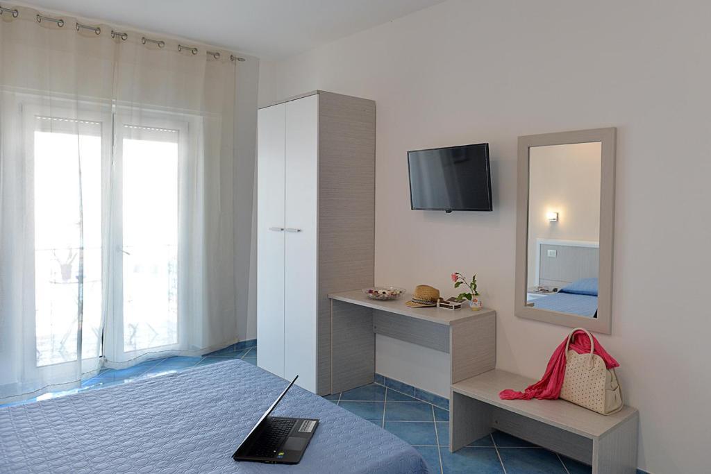 Area soggiorno di Acquamarine Maiori Amalfi Coast