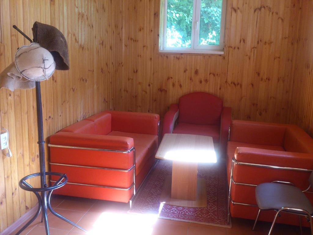 The lounge or bar area at Zvezdniy