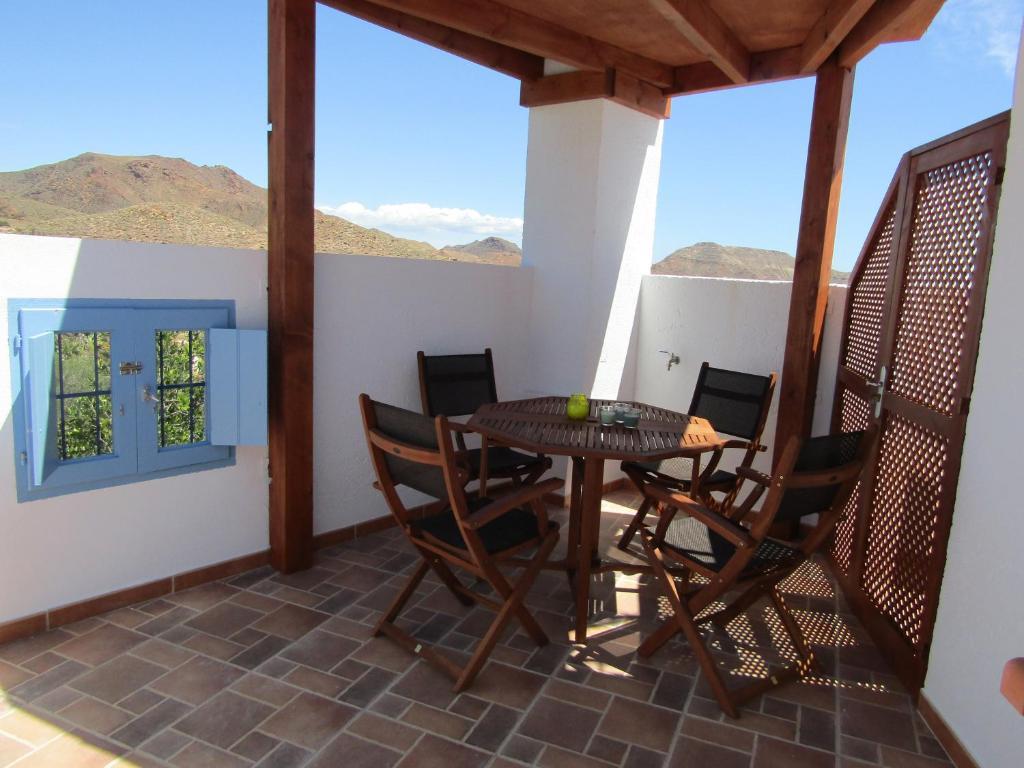 Un balcón o terraza de Caballo De Mar Appaloosa