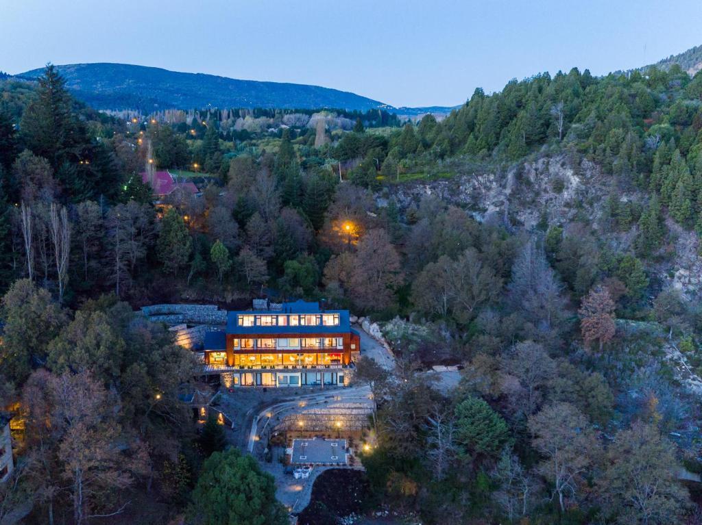 A bird's-eye view of Paraíso Casa de Montaña