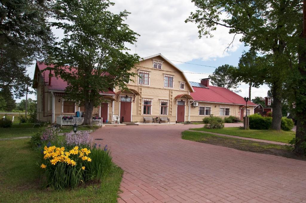Rakennus, jossa hostelli sijaitsee