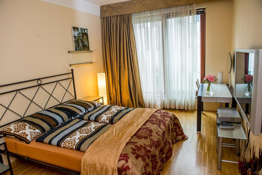 Een kamer bij River Diamond Luxury Apartments