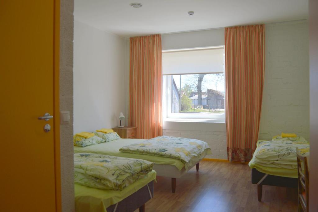 Tuba majutusasutuses Saare Automatic Hostel