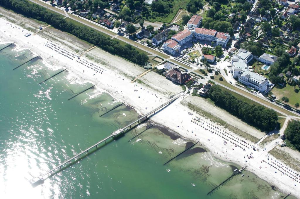 A bird's-eye view of Aparthotel Zingst